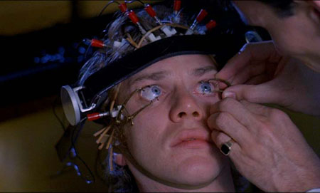 Still from A Clockwork Orange  A Clockwork Orange Alex Eye