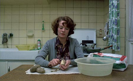 Still from Jeanne Dielman, 23 Quai du Commerce, 1080 Bruxelles (1975)