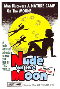 Nude on the Moon poster