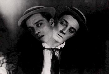 Still from Sherlock Jr. (1924)