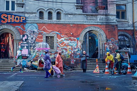 Still from The Zero Theorem (2013)