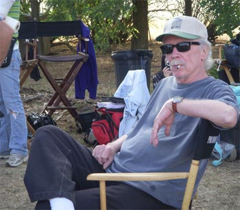 John Carpenter on the set of The Ward (2011)