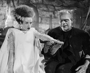 Still from Bride of Frankenstein (1935)