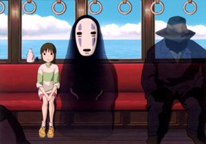 Stil from Spirited Away (2001)