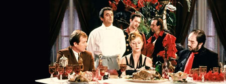 Still from The Cook, the Thief, His Wife and Her Lover (1989)