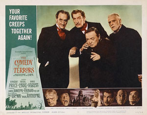 Poster for The Comedy of Terrors (1963)