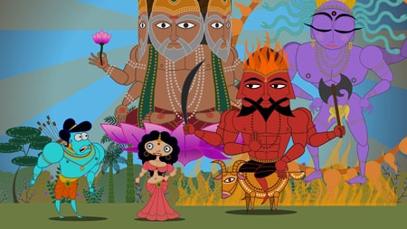 Still from Sita Sings the Blues (2008)