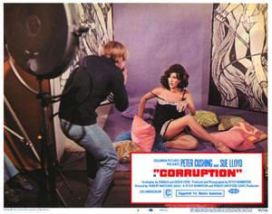 Poster for Corruption (1967)
