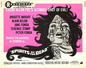 Spirits of the Dead (1968) exploitation poster