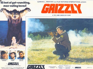 Poster for Grizzly (1976)