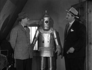 """Still from """"The Runaway Robot"""" from """"The Adventures of Superman"""""""