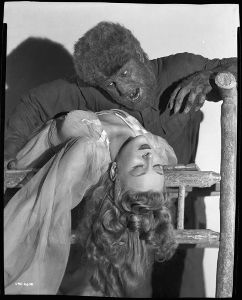 Promotional still for The Wolf Man (1941)
